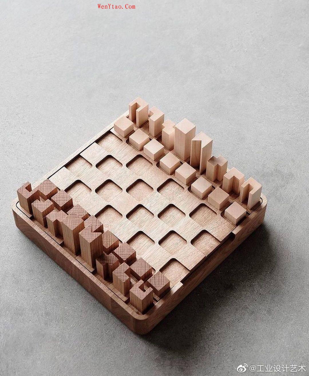 棋 来源于 微博工业设计艺术 第4张