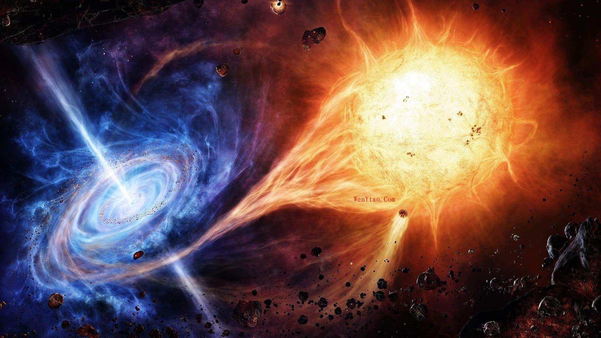 风景奇幻梦境山峰星空繁星云雾夜晚星空星球梦幻5k壁纸 风景 第14张