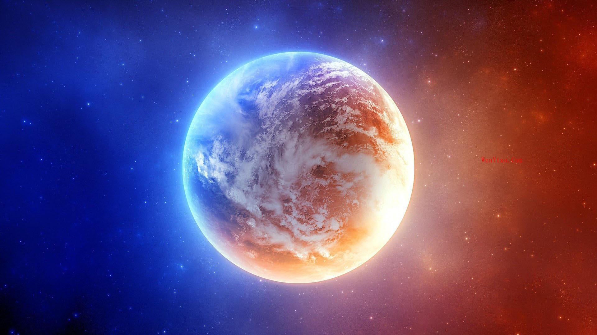 风景奇幻梦境山峰星空繁星云雾夜晚星空星球梦幻5k壁纸 风景 第15张