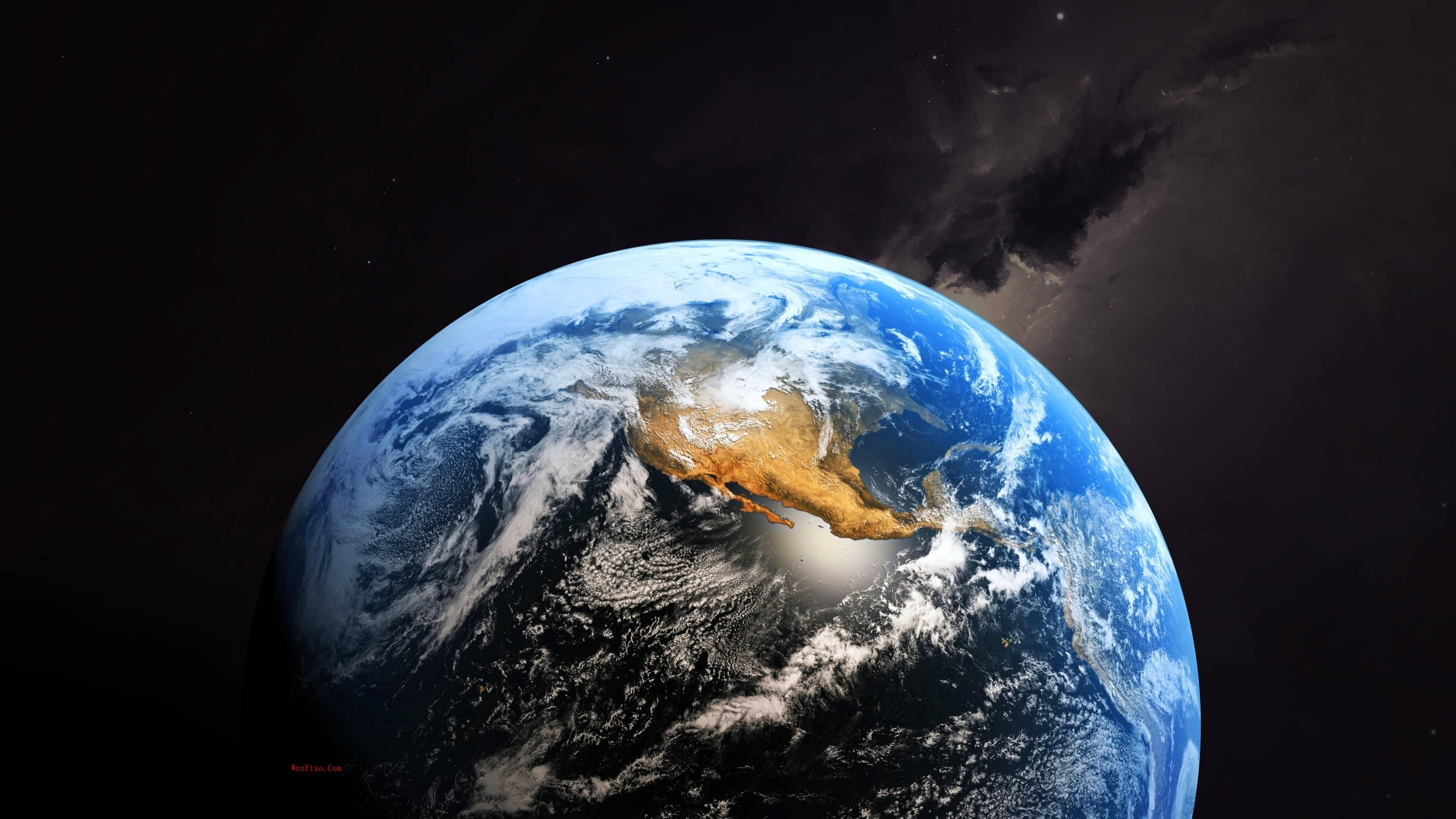 风景奇幻梦境山峰星空繁星云雾夜晚星空星球梦幻5k壁纸 风景 第16张